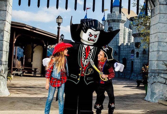 Un Halloween muy divertido con niños en Legoland