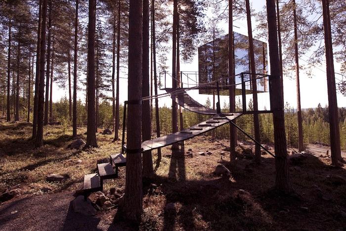 Hotel Treehotel en la Laponia Sueca