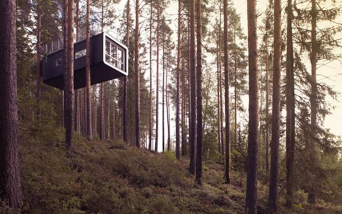Cabaña en árboles Treehotel en Suecia