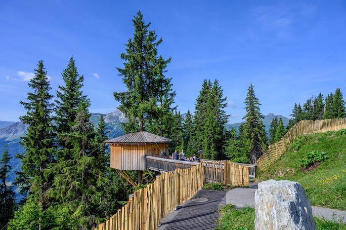 parque Madrisa Land en Suiza