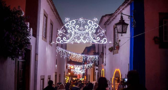 Óbidos, el pueblo de la Navidad en Portugal