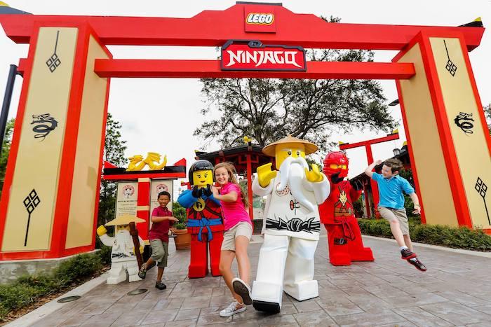 LEGO NINJAGO World en Legoland Nueva York