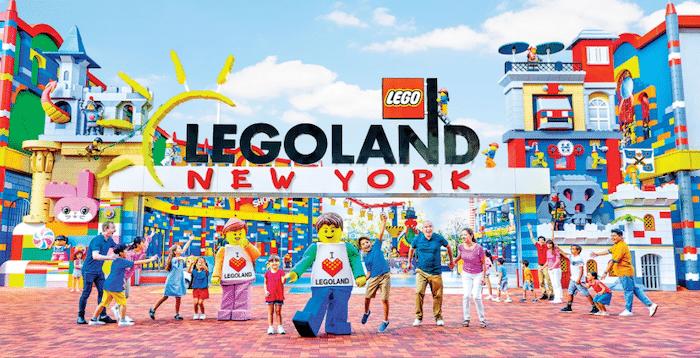 parque temático Legoland en Nueva York