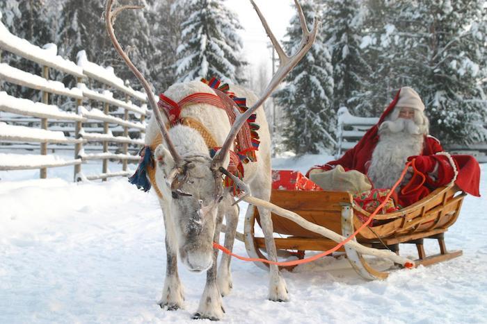 Santa Claus Village en Finlandia
