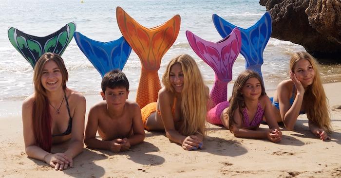 Academia de Sirenas y Tritones en Salou