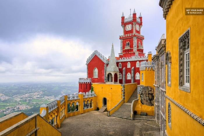 Palacio Nacional da Pena en Sintra