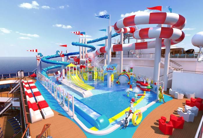 cruceros temáticos de Dr. Seuss con Carnival