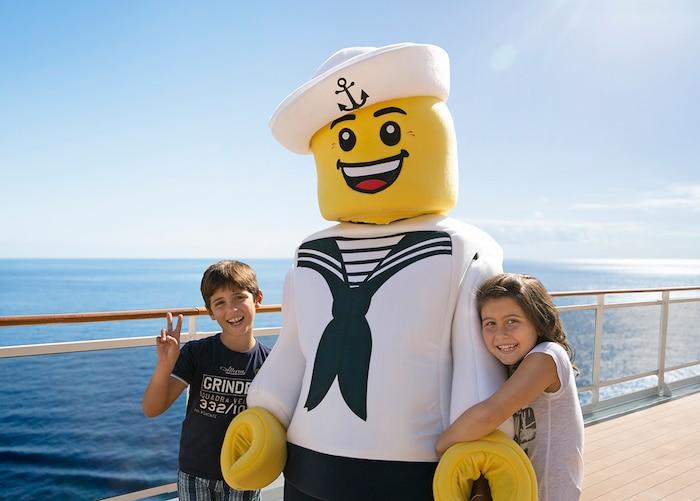 Experiencia LEGO en MSC Cruceros
