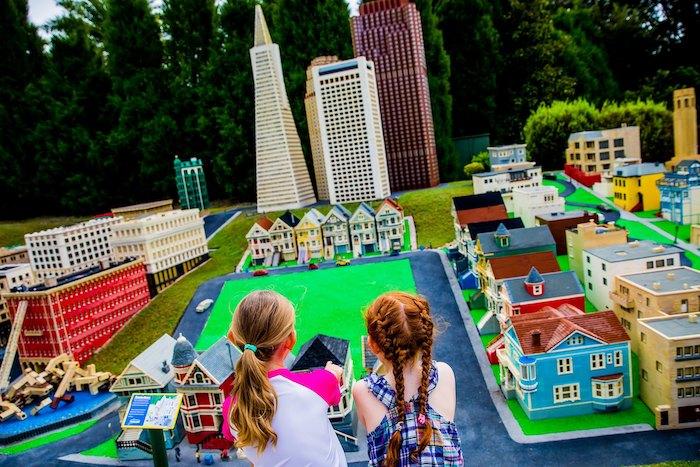 Miniland en Legoland Nueva York