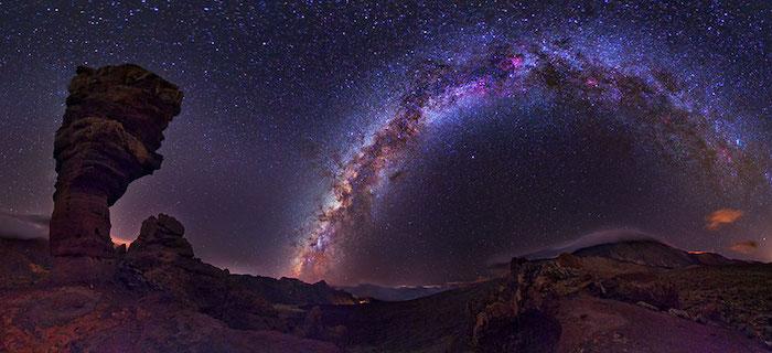 Observar estrellas en Canarias
