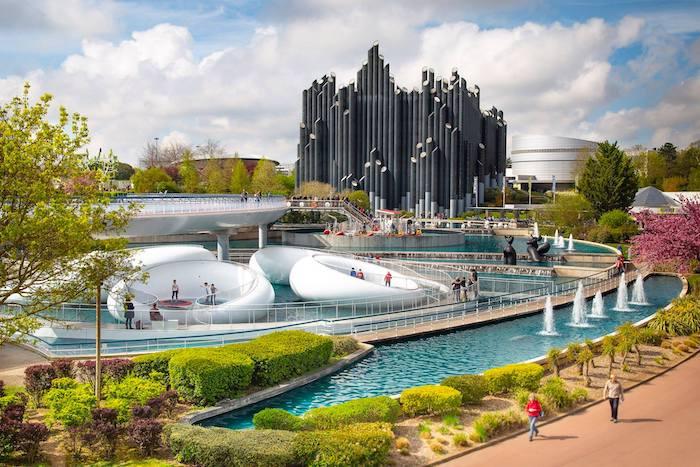 Parque temático Futuroscope en Francia