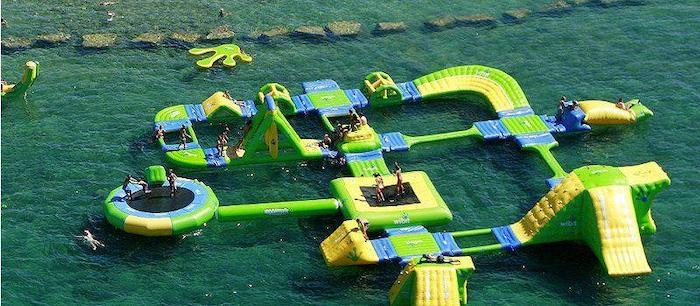 parque flotante Mar Aventura Sports Park en Salou