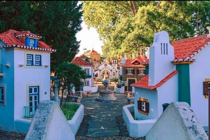 Parque Portugal dos Pequenitos en Coímbra