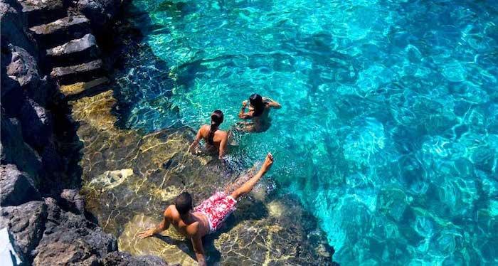 piscinas naturales en las Islas Canarias